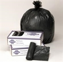 Picture of Vintage VL434715B Black Heavy 43x47  1.5 Mil 56 Gallon Can Liner 100/Ca.