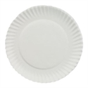 "Picture of Vintage 9"" Uncoated Paper Plate"