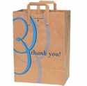 "Picture of ""Thank You"" 12x7x17 Paper Bag w/Handle"