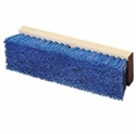 "Picture of 10"" Blue Poly Deck 1 Polypro Scrub Brush Wood Bloc"