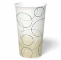 Picture of Champagne 20 Oz Cold Double Poly-coated  Cup w/Lid