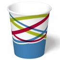 Picture of Champagne 5 Oz Cold Double Poly-coated Cup w/Lid