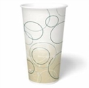 Picture of Champagne 32 oz Double Poly-coated Cold Cup