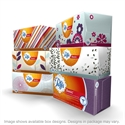 Picture of Puffs Basic 2 Ply White Facial Tissue 180 ct