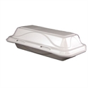 Picture of Foam Hot Dog Hinged Tray