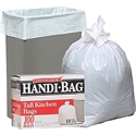 Picture of Handi-Bag 13 Gallon Trash Can Liner with Tie Flaps