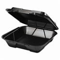 Picture of Darnel Black Large Foam1-Comp Hinge Lid Tray