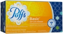 Picture of Puffs Basic 2 Ply Facial Tissue White - 180 Ct