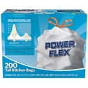 Picture of Power Flex Tall Kitchen Simple Fit Drawstring 13 Gallon Bags