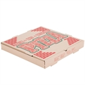 """Picture of 10"""" Corrugated Pizza Box B Flute Brown/Natural Stock Print"""