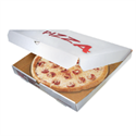 Picture of Clay-Coated Pizza Box 12x12x1-7/8 - White Paperboard - Lock Corner
